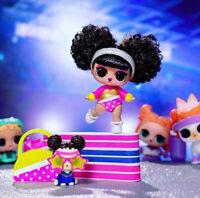 LOL Surprise Makeover Wave 2 #Hairgoals SPLITS Gymnast~RARE Doll~NEW Sealed!!!