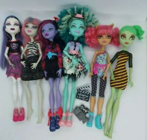 Monster High Bulk Doll Bundle Of 6.