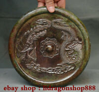 "8 ""antique chine de bronze de palais de dragon de modèle de Phoenix"