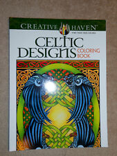 Celtic Designs Adult Coloring Book NEW!