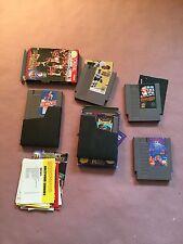 Nintendo Loose Games Rampage, Super Mario Bros, Tetris, Gretzky Hockey