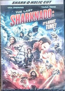 "THE LAST SHARKNADO-IT'S ABOUT TIME-DVD "" NEW, SEALED "" FREE FIRST CLASS SHIPPING"