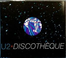 U2 Discotheque 4tr Island CIDX 649 854 877-2 France 1997 CD Maxi Single