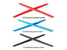 Galaxy Earsocks Rubber Kits Oakley Square Wire 2.Whisker,O-E Wire Black/Blue/Red
