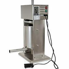 Zelsius 10 L Edelstahl Wurstfüllmaschine mit Fußpedal elektrischer Wurstfüller