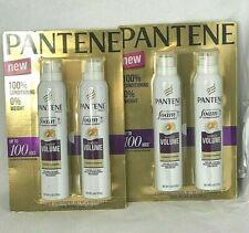 4 Bottles of Pantene Pro-V SHEER VOLUME Foam Aerosol Can Conditioner 6 oz