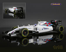 Williams-Mercedes fw37 martini racing f1 2015 Valtteri Bottas, Minichamps 1:18