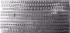 11bpt (on a 12pt body) MODERN Letterpress Metal Printing Type upper & lower case