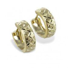 Klappcreolen Ohrringe Gold 333 Creolen 13 mm x 5 mm 8 Karat Goldschmuck ebay Neu