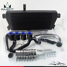 Upgrade Front Mount  Intercooler Kit For 96-01 VW Passat Audi A4 B5 1.8T Black