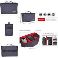 Waterproof Photo Camera Bag with Partition Protective Case Shoulder Strap DP112S