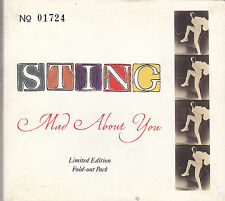 STING - mad about you CD single