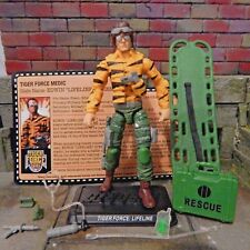 GI JOE ~ 2015 LIFELINE ~ EDWIN STEEN ~  TIGER FORCE MEDIC ~100% & FC joecon 1985