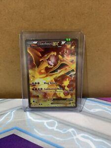 Charizard EX Holo Rare full art XY121 promo Pokemon Card