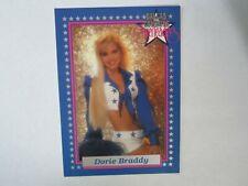 1992 Enor # 3P Dorie Braddy Dallas Cowboys Cheerleaders Promo Card (B17)