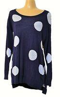 TS top TAKING SHAPE plus sz M / 20 Evie Spot Jumper light knit glam NWT rp$140