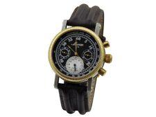 DENISSOV Barracuda Mechanical Chronograph Watch Poljot 31681 Russian 47mm
