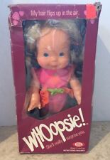 """DOLL 13"""" Ideal 1978 WHOOPSIE + original SUNSUIT OUTFIT Ponytails WHOOP UP Box"""