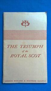 Triumph of the Royal Scot Souvenir reprint (May 1977)