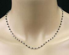 Natürliche Echtschmuck-Halsketten Diamant
