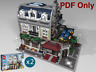 Lego Custom Modular Instructions Parisian Restaurant 10243 PDF Only