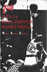 1973-74 KENTUCKY HILLTOPPER BASKETBALL media guide, JOHNNY BRITT, ORIGINAL