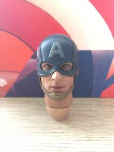 EMS 1/6 scale Hot Toys MMS281 Avengers Age of Ultron Captain America head sculpt