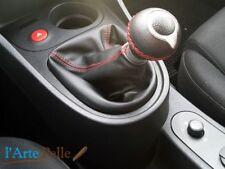 Cuffia leva cambio Seat Leon 2° serie vera pelle nera