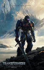 Transformers the Last Knight Movie Poster 24*36In Fabic Silk Material Wall Decor