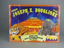 AFFICHE CIRQUE JOSEPH.E. BOUGLIONE  FALKI DEPUIS 1880 DANS LA GRANDE TRADITION