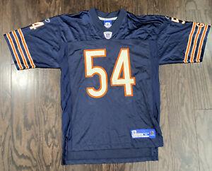 Brian Urlacher #54 Chicago Bears NFL Football Jersey Mens Size Medium Reebok