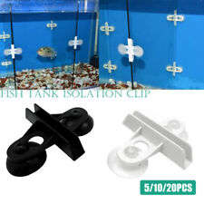 Aquarium Fish Tank Isolation Clip Suction Cup Separation Clamp Divider Sheet^