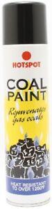 HotSpot Coal Paint 300ml Rejuvenates Gas Fire Coals Heat Resistant Black Spray