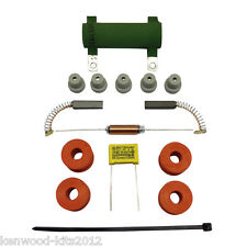 Kenwood Chef A701 A701A A707 Kit de reparación del motor, 1 Gorra con cepillos, soportes y pies