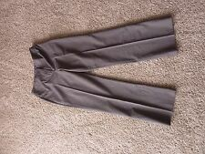 Apt. 9 womens stretch casual slacks in brown tweed print, size 10