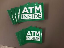 ATM INSIDE STICKER MEGA PACK (includes FREE Ground Shipping)