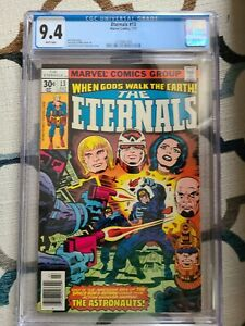 Eternals #13 CGC 9.4 1st Appearance Gilgamesh (Forgotten One)
