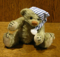 "DEB CANHAM ARTIST DESIGNS Bigger Bear, NITE NITE, 5"" LE fully jointed Mohair"
