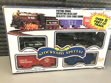 Vintage 1988 Scientific Toys Stockyard Special Train Set (As Is)