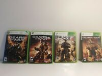 Gears of War Xbox 360 Games Cleaned and Tested! 1 + 2 + 3 Judgement