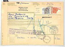 BS12 1990 Switzerland Breganzona Chiasso 20fr High Value PTS
