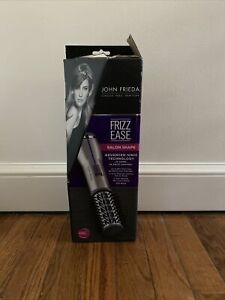 "John Frieda Frizz Ease Shine Shape 1.5"" Titanium Ceramic Not Air Brush Open Box"