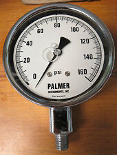 Palmer Gauge 0-160 PSI Chrome