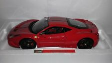 Bburago Signature serie 1:18 Ferrari 458 Speciale rood nieuw in verpakking