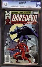 Daredevil # 158 CGC 9.6 White (Marvel, 1979) 1st Frank Miller on series