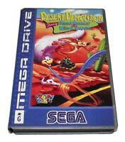 Desert Demolition Road Runner Sega Mega Drive PAL *Complete* Silver Edition