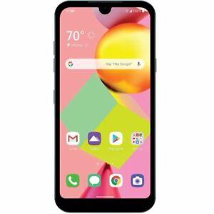 "LG Risio 4 | Cricket | Prepaid Smartphone| 5.7"" Display | Blue 16 GB | Brand New"