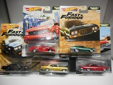 HOT WHEELS FAST & FURIOUS FORD, CHEVY,BUICK REAL RIDERS 1:64
