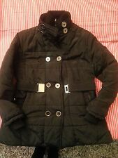 Giubbotto Giubbino imbottito giacca parka piumino donna doppia allacciatura XL