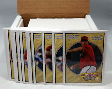 2008 Upper Deck Heroes Baseball Set - 200 Cards - Loaded With Stars